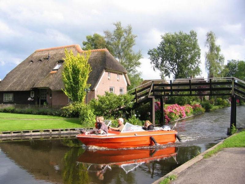 Giethoorn, a Veneza rural da Holanda 23