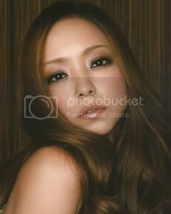 Namie looking SMOKIN' in an issue of GINGER magazine