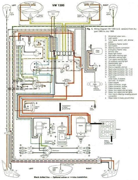 1966 Bug Wiring Diagram Schematic