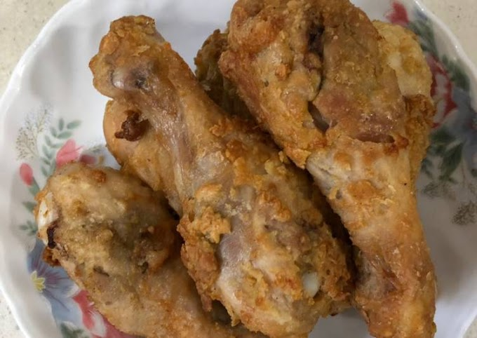 Recipe of Homemade AirFryer Old school fried chicken 🍗