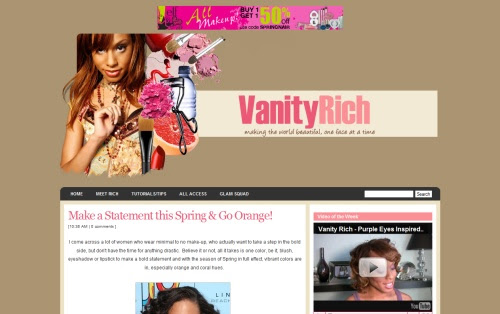 Vanity Rich