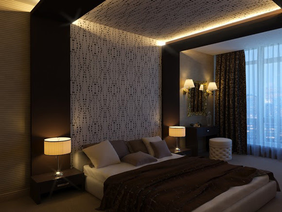Pop Design Of Ceiling For A Whole Rooms