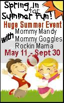 Summer Bash with Mommy Mandy, Mommy Goggles & Rockin Mama!