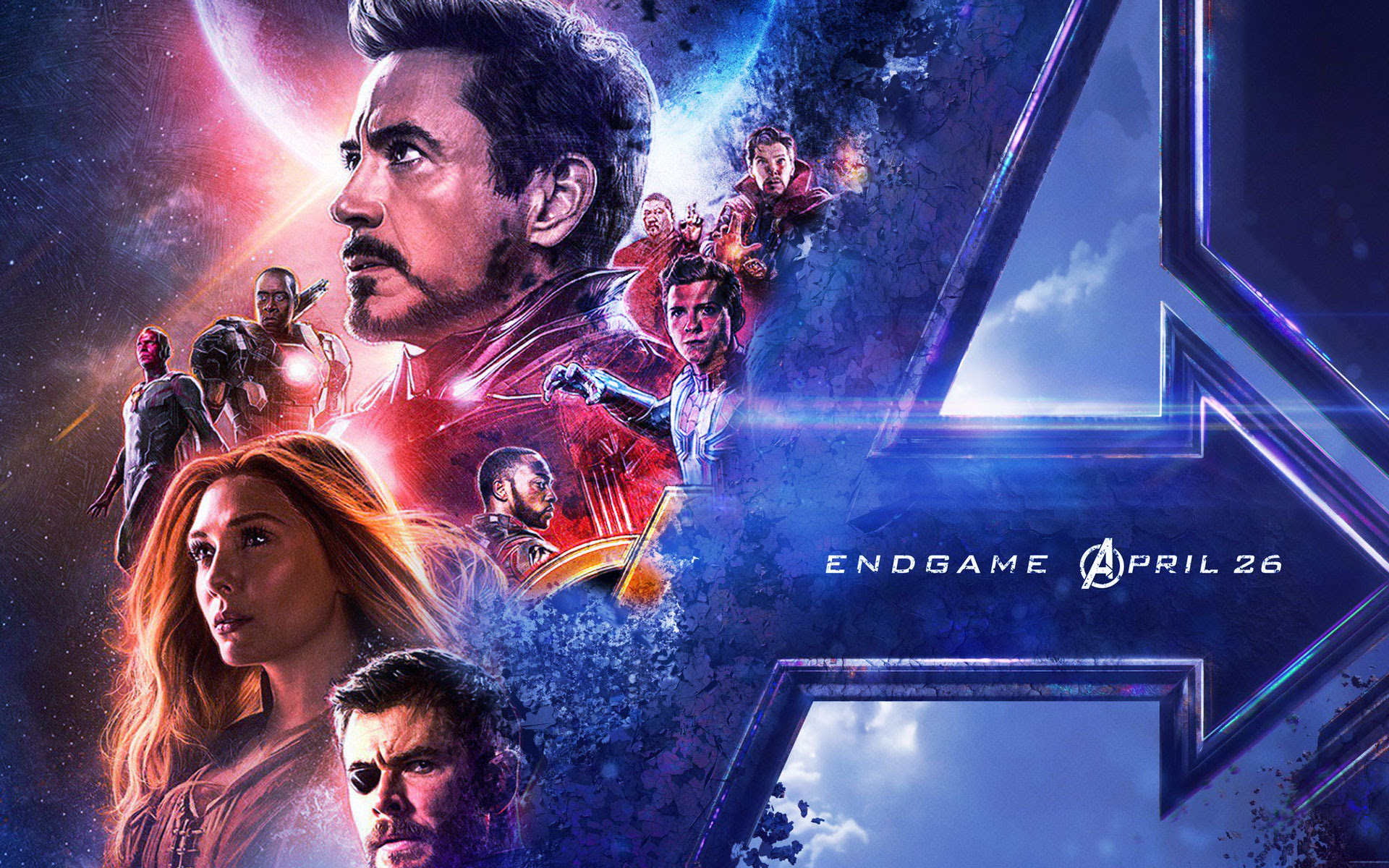 Avengers Endgame Wallpaper 1920x1080 Movie Stream 4k Online