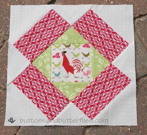 September Rooster block