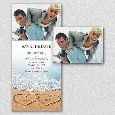 17 Best images about Beach Wedding Invitations on