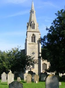 All Saints church in Paston.,