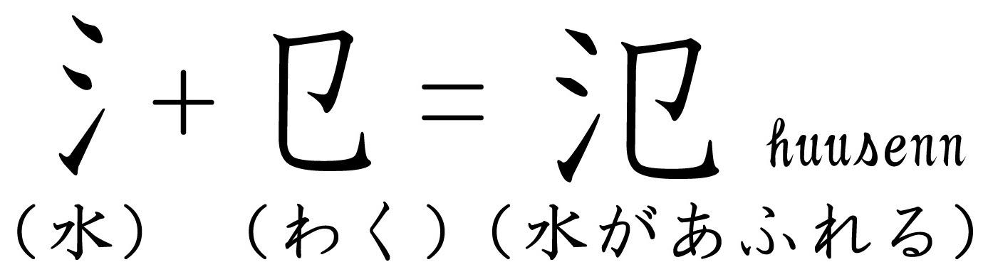 漢字の覚え方 犯 氾 風船あられの漢字ブログ