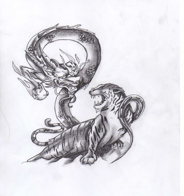 Dragon And Tiger Shaolin Tattoo Tattoomagz