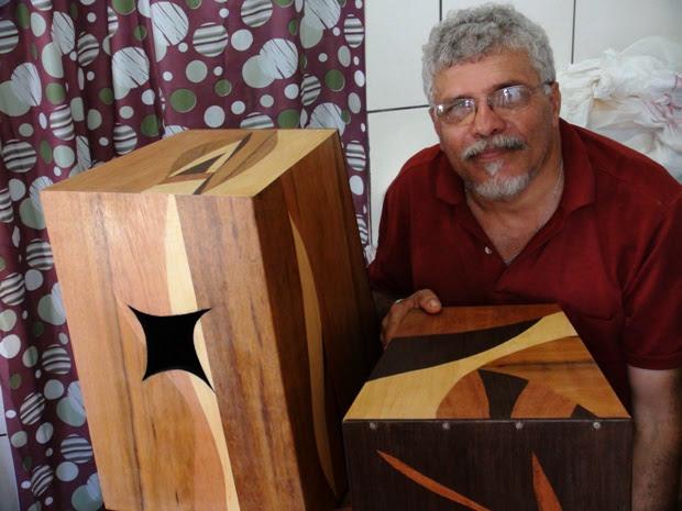 Cícero Simão Luthier Salvador Bahia (Foto: Reprodução/ TV Bahia)