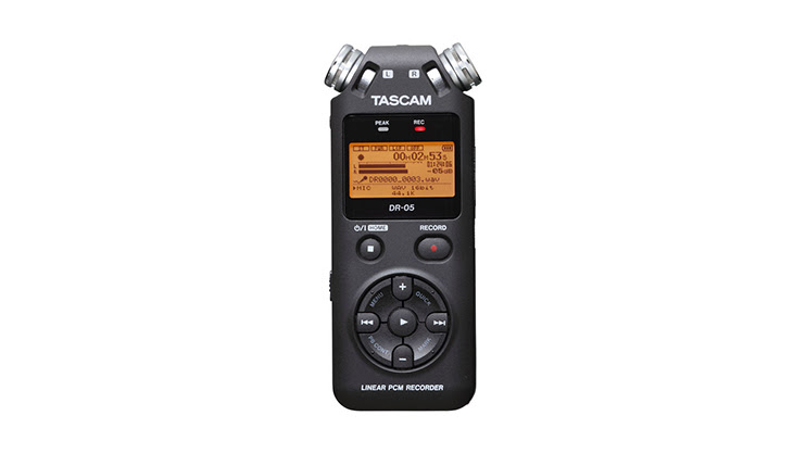 Tascam DR-05 Portable Recorder