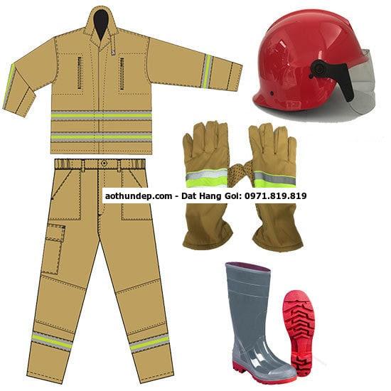 bộ quần áo chữa cháy