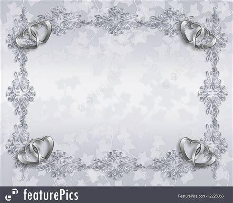 Templates: Wedding Invitation Elegant Border   Stock