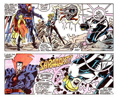 Cyclops vs. Mr. Sinister