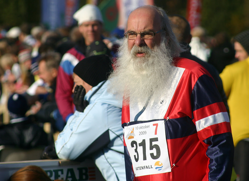 The Bearded Runner