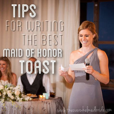 Tips For Writing the Best Maid of Honor Toast   bridesmaid