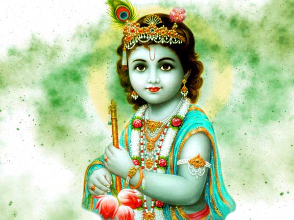 Childhood Lord Krishna Picture