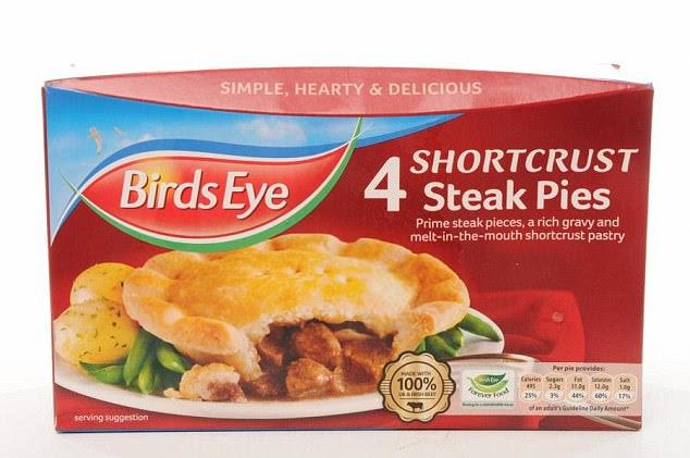 Birds Eye recalls chicken pies from supermarkets | Daily ...