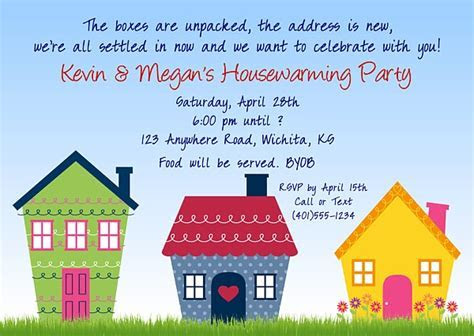 Housewarming Party Invitations   Misc Occasions