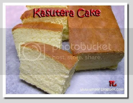 how to make castella sponge cake