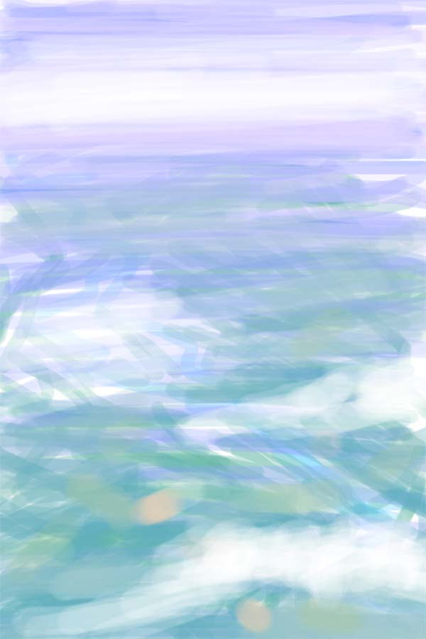 zdepski's iphone painting out the airplane window