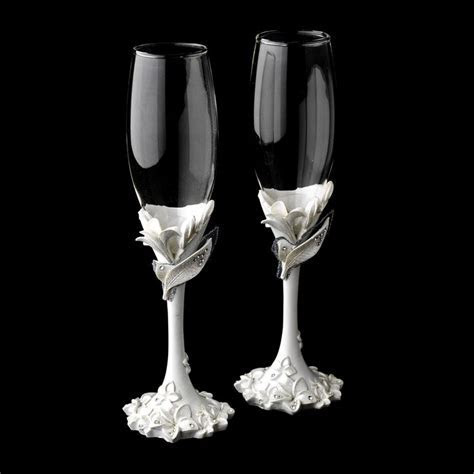 1000  images about Wedding Accessories: Toasting Flutes on