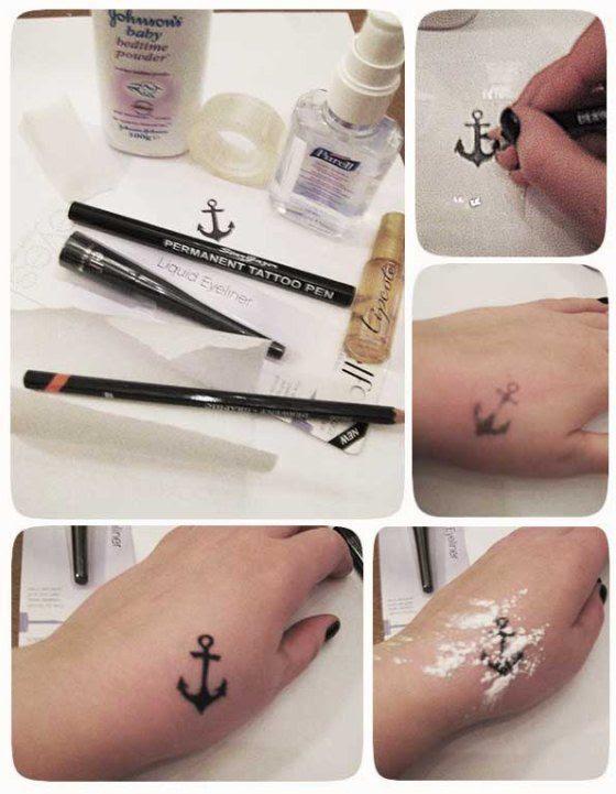 Tips Para Hacer Tatuajes Temporales Caseros