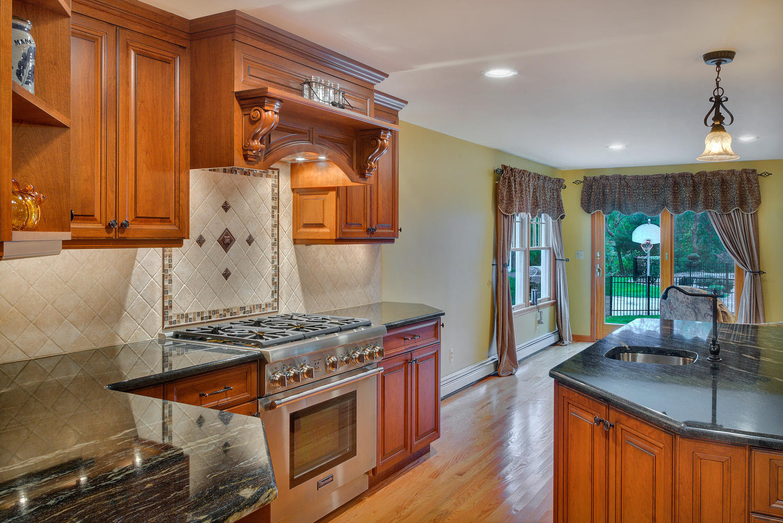 Custom Cherry Cabinet Kitchen Manasquan New Jersey by ...