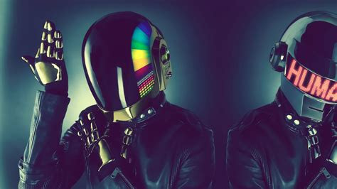 full hd wallpaper daft punk helmet futuristic variegated