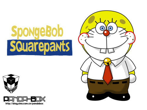 doraemon - spongebob squarepants