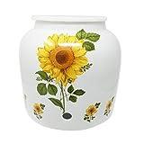 Dispenser keramik-flower