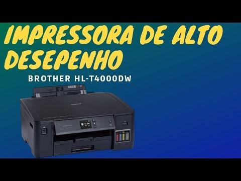 Brother HL‑T4000DW: Impressora Jato de Tinta de Alto Desempenho