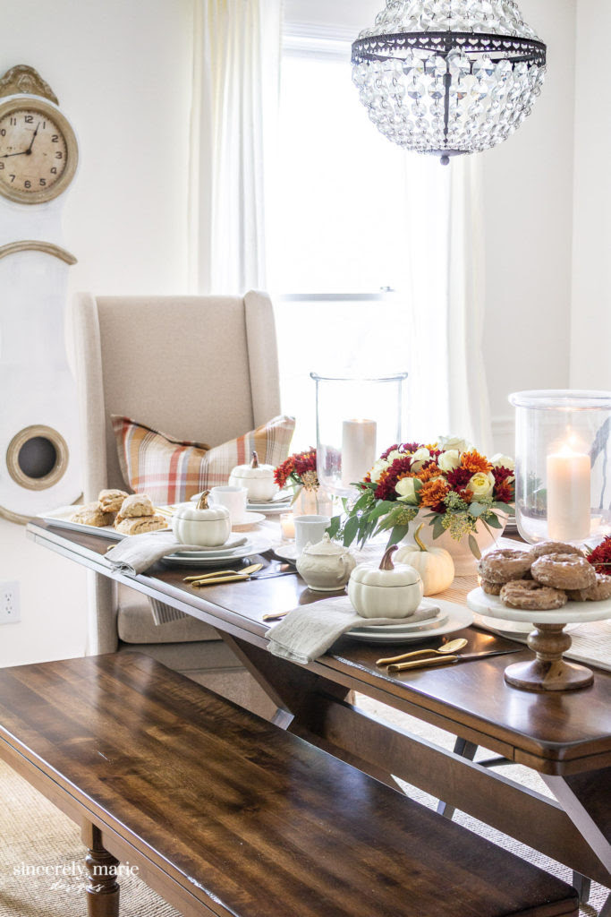 Sincerely Marie Designs Fall Tablescape