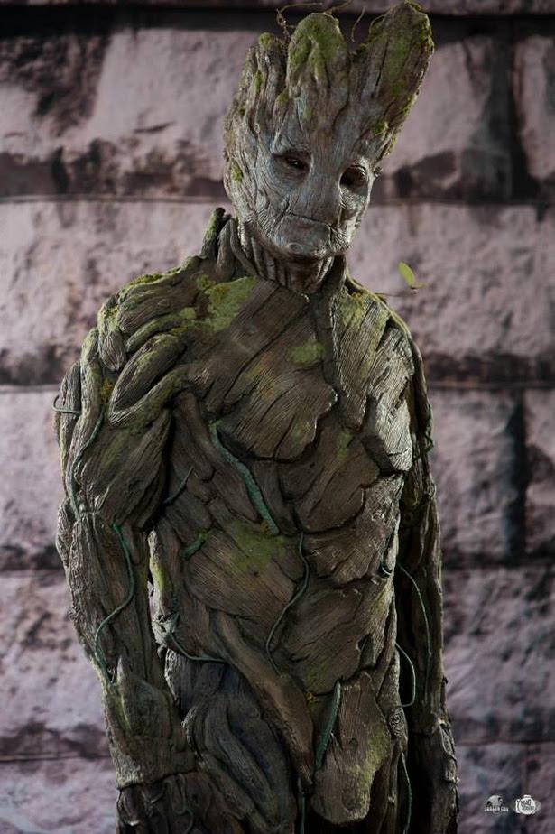 Impresionante cosplay de Groot