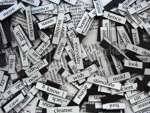 Natalie Roberts' magnetic poetry photo