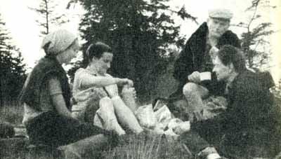 Wanda acampar Poltawska com o cardeal