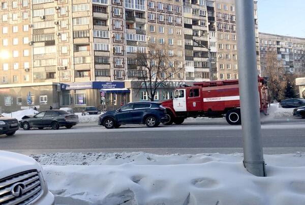 На ул. Кирова в Новокузнецке случились две аварии