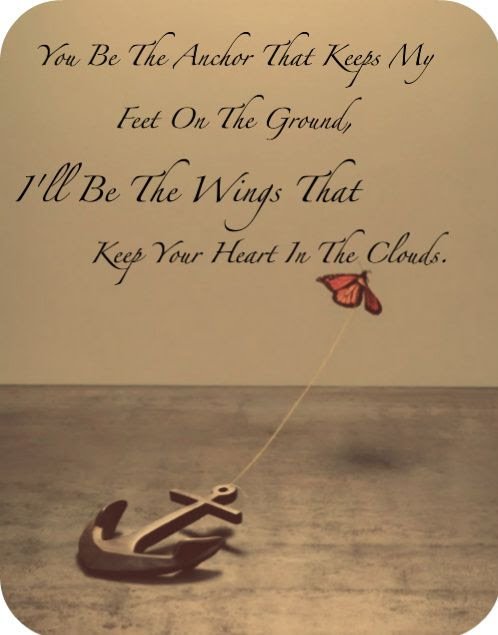 You Are My Anchor Love Quotes