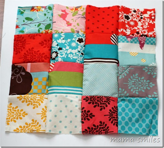 How to make a quilt for a doll patchwork?