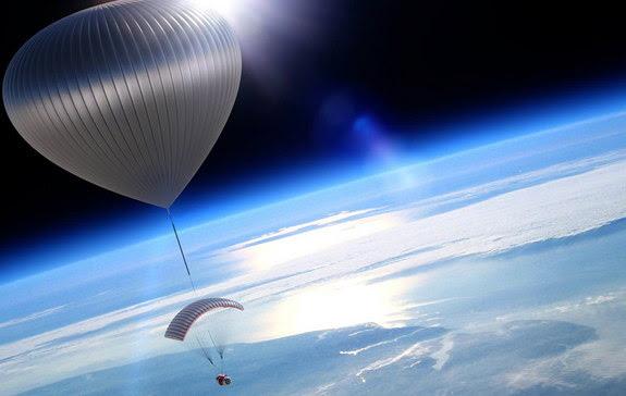 perierga.gr - Aερόστατα θα μεταφέρουν τουρίστες στη στρατόσφαιρα!