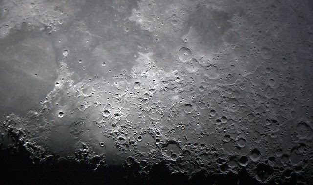 Moon surface (Explored)