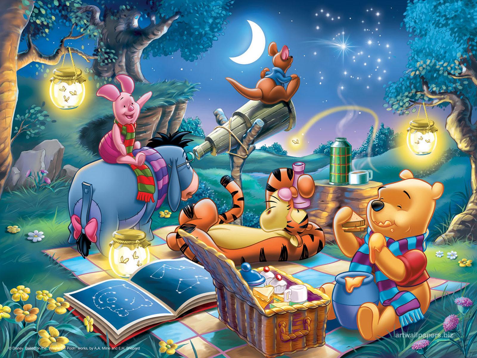 KUMPULAN GAMBAR WINNIE THE POOH TERBARU Foto Kartun Winnie The Pooh