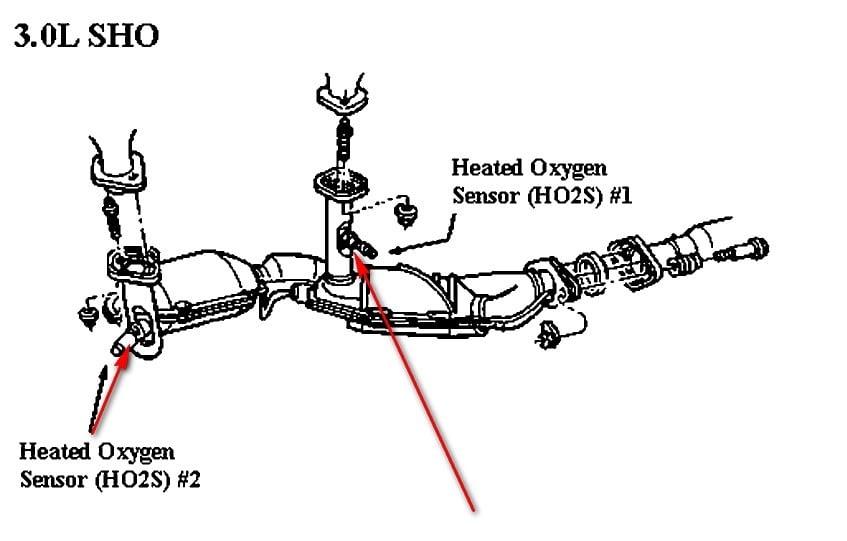 27 2005 Ford Taurus Oxygen Sensor Diagram