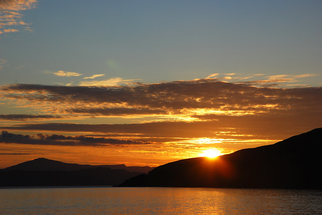 Applecross sunset