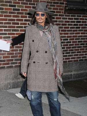 Johnny Depp estará em 'Black Mass' e 'Transendence' Foto: BangShowBiz / BangShowBiz
