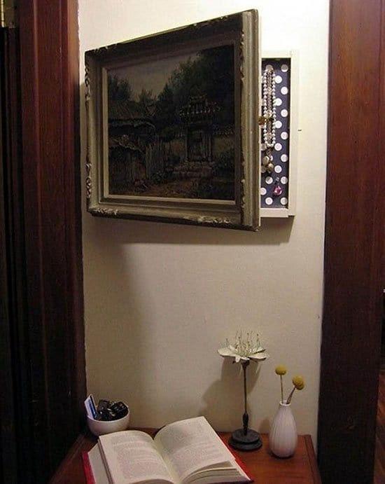 hiding place frame