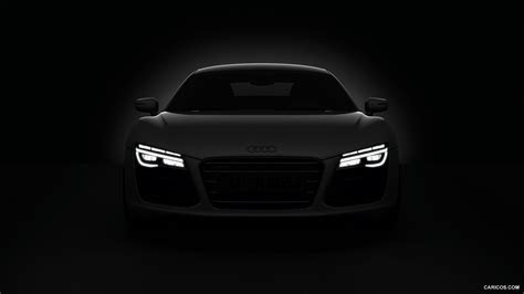 White Audi R8 iPhone Wallpaper   image #500