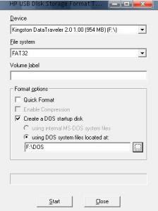 HP USB Flash Utility