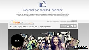 Screenshot of Face.com