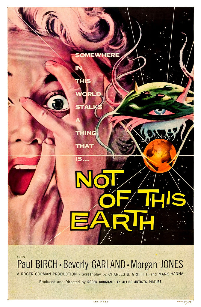 Albert Kallis - Not of this Earth (Allied Artists, 1957) One Sheet